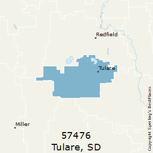 Tulare Zip Code Map.Best Places To Live In Tulare Zip 57476 South Dakota