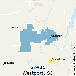 Westport,South Dakota County Map