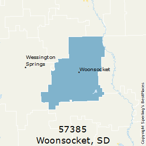 Best Places to Live in Woonsocket zip 57385 South Dakota