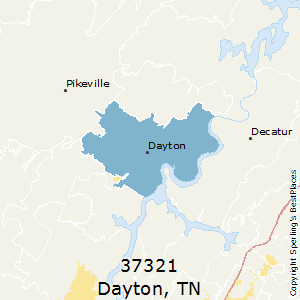 Dayton,Tennessee County Map