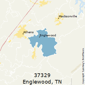 Englewood,Tennessee(37329) Zip Code Map