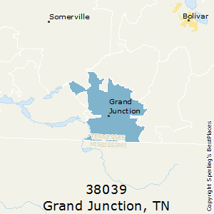 Grand_Junction,Tennessee County Map