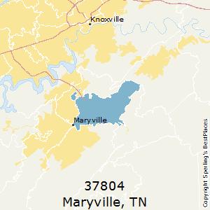 Maryville tn area code