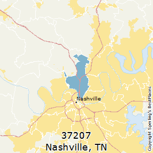Best Places to Live in Nashville (zip 37207), Tennessee