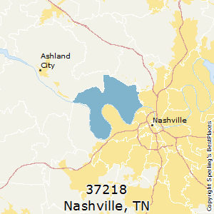 Best Places to Live in Nashville (zip 37218), Tennessee on