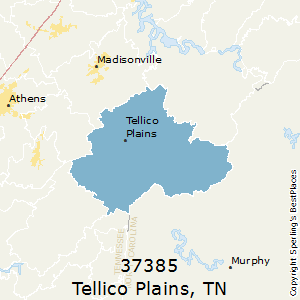 Tellico_Plains,Tennessee(37385) Zip Code Map