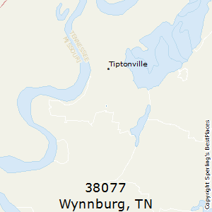 Wynnburg,Tennessee County Map
