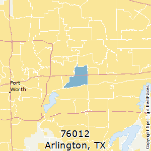 Arlington,Texas County Map