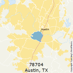 Best Places to Live in Austin (zip 78704), Texas