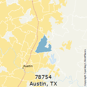Best Places to Live in Austin (zip 78754), Texas
