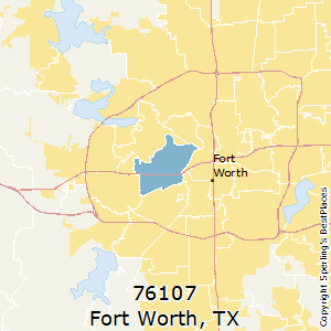 Best Places to Live in Fort Worth (zip 76107), Texas on