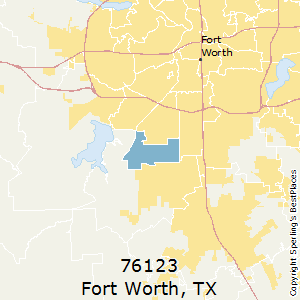 Fort_Worth,Texas County Map