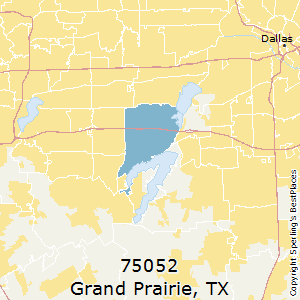 Best Places to Live in Grand Prairie (zip 75052), Texas
