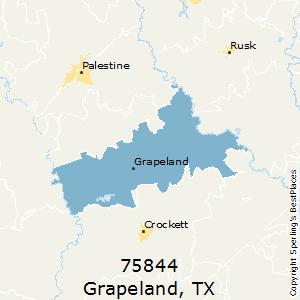 Grapeland texas zip code