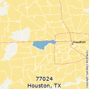 Best Places to Live in Houston (zip 77024), Texas