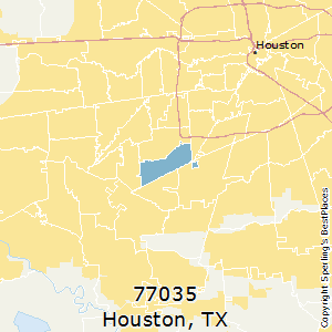 Best Places to Live in Houston (zip 77035), Texas