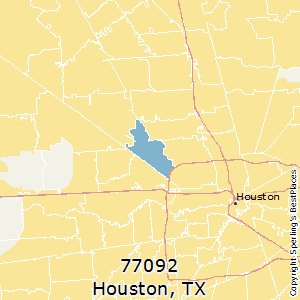 Best Places to Live in Houston (zip 77092), Texas