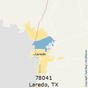 Map Of Texas Laredo.Best Places To Live In Laredo Zip 78041 Texas
