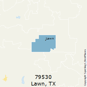 Lawn,Texas County Map