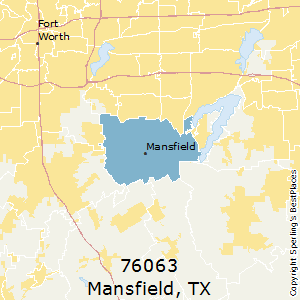 Best Places to Live in Mansfield (zip 76063), Texas on