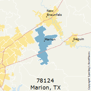 Marion Texas Map