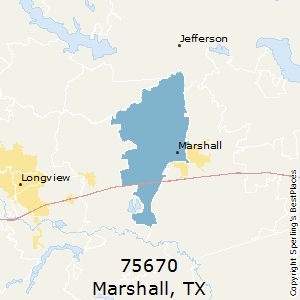 Marshall Tx Zip Code Map.Best Places To Live In Marshall Zip 75670 Texas