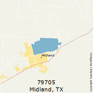 Map Of Texas Midland.Best Places To Live In Midland Zip 79705 Texas