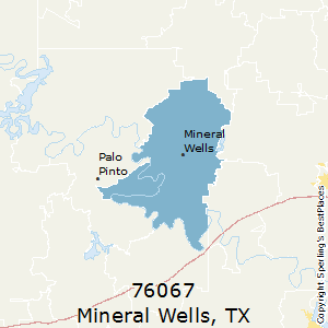 Mineral_Wells,Texas County Map