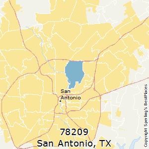 Best Places to Live in San Antonio (zip 78209), Texas