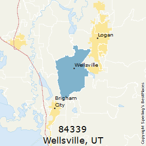 Wellsville Utah Map.Best Places To Live In Wellsville Zip 84339 Utah