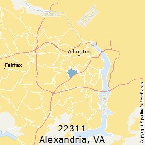 Best Places To Live In Alexandria Zip 22311 Virginia