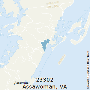 best places to live in assawoman zip 23302 virginia
