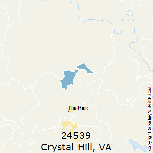 Crystal_Hill,Virginia County Map
