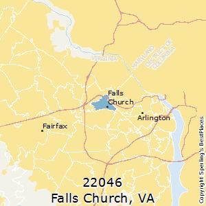 Falls Church Va Zip Code Map.Best Places To Live In Falls Church Zip 22046 Virginia