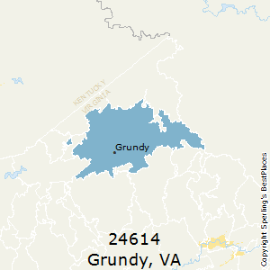 Grundy,Virginia County Map