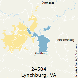 Best Places To Live In Lynchburg Zip 24504 Virginia
