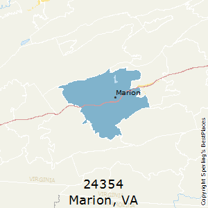 Marion Virginia Map.Best Places To Live In Marion Zip 24354 Virginia