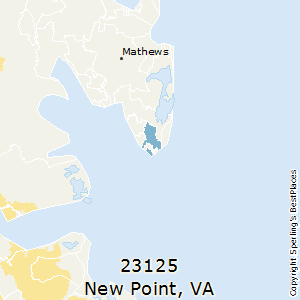 New_Point,Virginia County Map