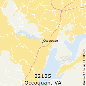Prince William County Zip Code Map.Best Places To Live In Occoquan Zip 22125 Virginia