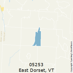 East_Dorset,Vermont County Map