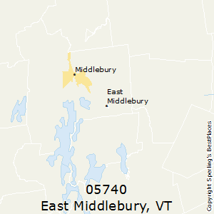 East_Middlebury,Vermont County Map