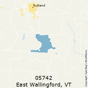 East_Wallingford,Vermont County Map