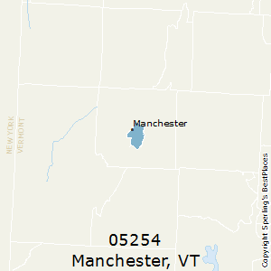 Manchester,Vermont County Map