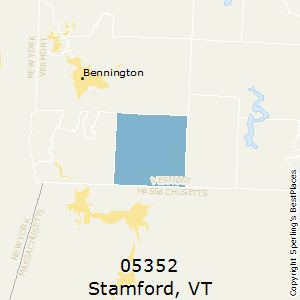 Stamford,Vermont County Map