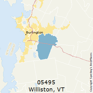 Williston,Vermont County Map