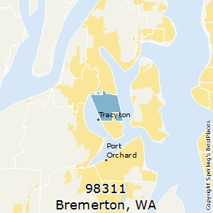 Bremerton Wa Zip Code Map.Best Places To Live In Bremerton Zip 98311 Washington