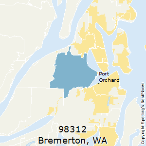 Bremerton Wa Zip Code Map.Best Places To Live In Bremerton Zip 98312 Washington