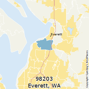 Best Places To Live In Everett Zip 98203 Washington