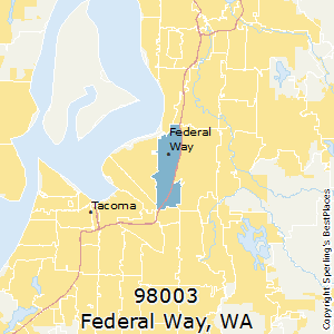 Federal_Way,Washington County Map