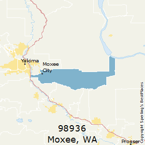Best Places To Live In Moxee Zip Washington - 936 area code